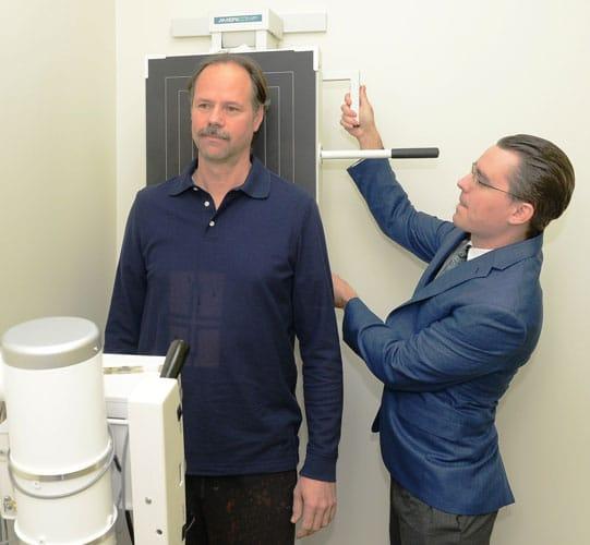 X-Rays at Kauffman Chiropractic - Merrillville